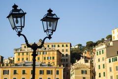 Camogli. Famous Ligurian village (Italy Stock Images