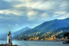 Camogli, Gênes, Italie Photos libres de droits