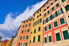 Camogli, Genova, Italia fotografie stock