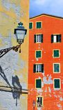 Camogli, Genova, Italia immagine stock