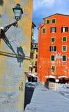 Camogli, Genova, Italia fotografia stock libera da diritti