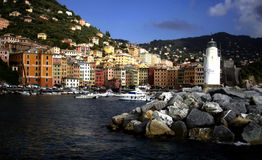 Camogli glimpse Royalty Free Stock Photo
