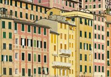 Camogli house facade Royalty Free Stock Photo