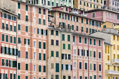 Camogli houses Stock Image