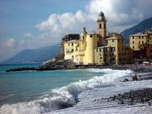 Camogli, Italië stock foto's