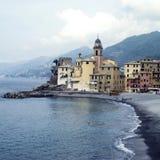 Camogli, Italiaanse Riviera Royalty-vrije Stock Foto's