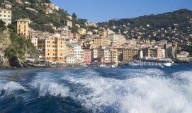 Camogli, italiano Riviera Immagine Stock Libera da Diritti