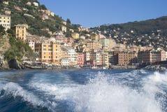 Camogli, italiano Riviera Fotografia Stock Libera da Diritti
