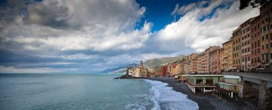 Camogli landscape Royalty Free Stock Photography