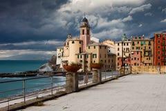 Camogli landscape Royalty Free Stock Images