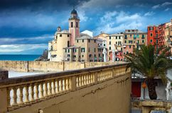 Camogli landscape Royalty Free Stock Images
