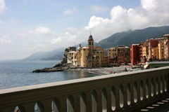Camogli landscape Royalty Free Stock Photos