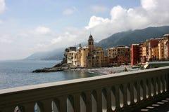Camogli landscape Royalty Free Stock Photos