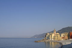 Camogli in Liguria Royalty Free Stock Photos