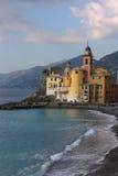 Camogli Liguria Foto de archivo