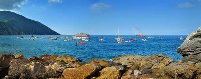 Camogli, Liguria, Italia - 2-03 de agosto de 2015: Festival Foto de archivo libre de regalías