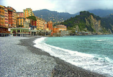 Camogli (Liguria).Italy. Stock Photos
