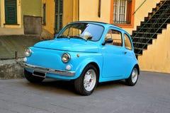 Camogli, Liguria, Italy - March 26, 2016 Fiat 500 Abart on Itali Royalty Free Stock Image