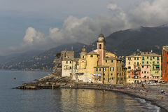 Camogli, Liguria, Italy picturesque fishermen village Royalty Free Stock Photo