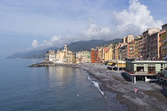 Camogli, Liguria, Italy picturesque fishermen village Stock Image