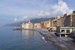 Camogli, Liguria, Italy picturesque fishermen village Stock Image