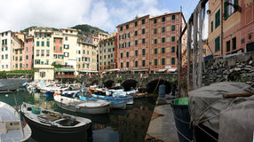 Camogli marina Stock Image