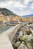 Camogli Marine Italy Royaltyfri Foto