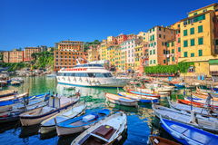 Camogli near Genova, Italy Stock Photography