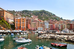 camogli port Obraz Royalty Free