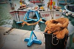 Camogli Port in Italy. Camogli Port in Mediterranean seanassignment files royalty free stock photos