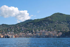 Camogli and Portofino promontory Royalty Free Stock Image