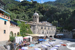 Camogli and Portofino promontory Royalty Free Stock Photos