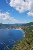 Camogli and Portofino promontory Stock Image