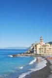 Camogli and Portofino promontory Royalty Free Stock Photography
