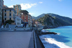 Camogli and Portofino promontory Stock Photography