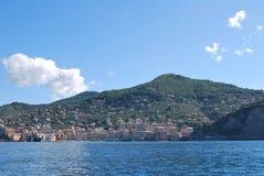 Camogli and Portofino promontory Stock Photos
