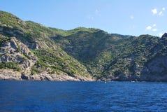 Camogli and Portofino promontory Stock Photo