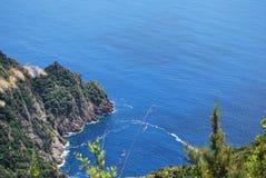 Camogli and Portofino promontory Stock Images