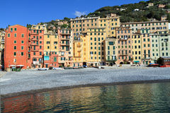 Camogli, promenade Royalty Free Stock Photos