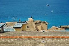Camogli roofs Stock Photography