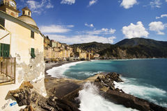Camogli seascape Stock Photography