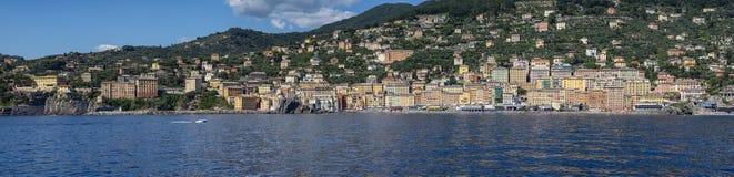 Camogli une ville en mer ligurienne Photo libre de droits