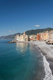 Camogli - vertical composition Royalty Free Stock Photos