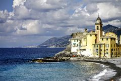 Camogli view Stock Images
