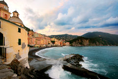 Camogli village Stock Images