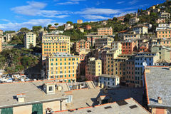 Camogli village Stock Image