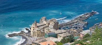 Camogli, vista aérea Imagens de Stock Royalty Free