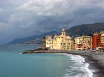 camogli Włochy Obrazy Royalty Free