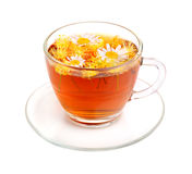Camomile and linden tea Royalty Free Stock Image