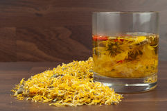 Camomile tea. Royalty Free Stock Photography